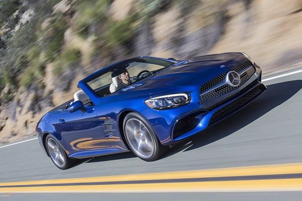 2017 Mercedes-Benz SL550