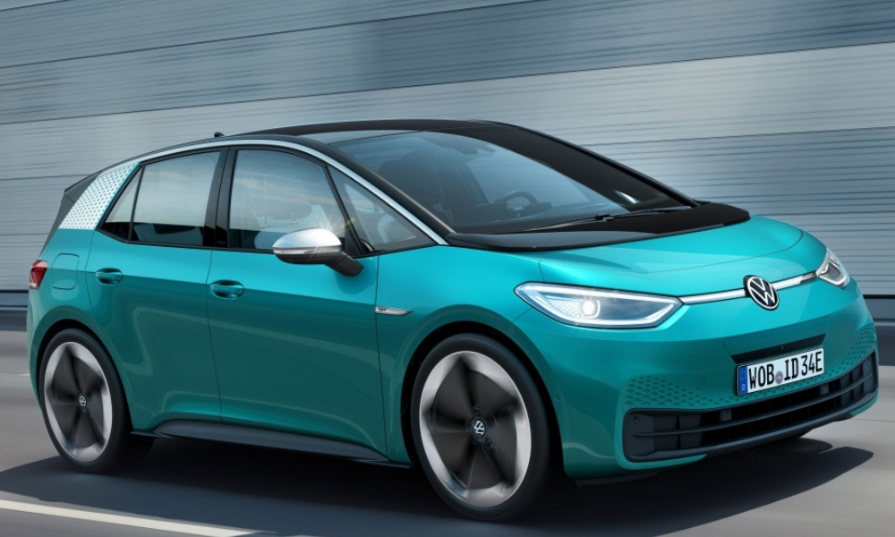 VW Reveals The ID.3 Electric Car